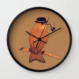 Dapper Bird Wall Clock