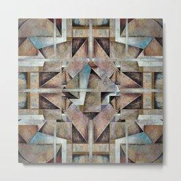 Granny Smith Geometric Metal Print