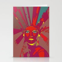 medusa Stationery Cards featuring MEDUSA by Julia Lillard Art
