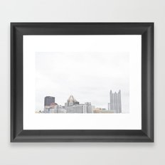 Pittsburgh Skyline Framed Art Print