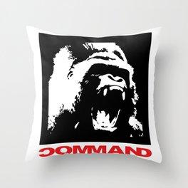 Guerrilla warfare Throw Pillow