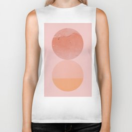Abstraction_Circles_ART_Minimalism_001 Biker Tank