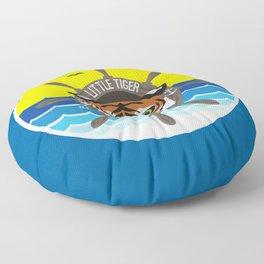Little Tiger Yacht Club Floor Pillow