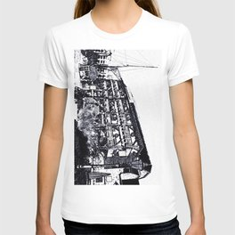 Dickens inn Pub  Digital Sketch T-shirt