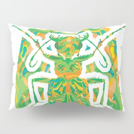 Tiger Beetle _ psychedelic bug 2.0 Pillow Sham