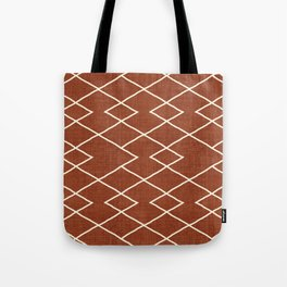 Cliff in Rust Tote Bag