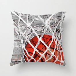Basketball Art Throw Pillow