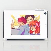 manga iPad Cases featuring Manga Nerds by AndytheLemon