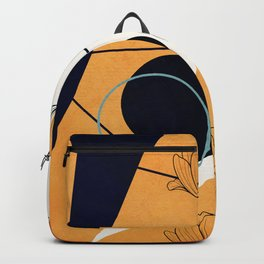 Vibrant Flower Design 3 Backpack