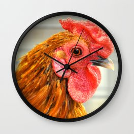 Rooster 2016 Wall Clock
