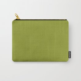 Soft Chartreuse Stripes Carry-All Pouch