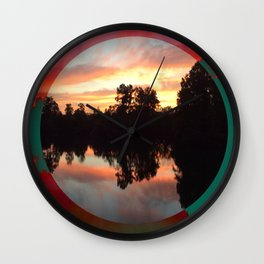 Artisan's view cleared Wall Clock