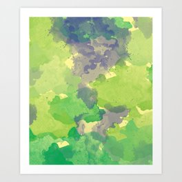 Abstract painting X 0.4 Art Print