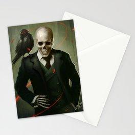 Skully Gentleman Stationery Cards