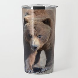 Alaskan Grizzly Bear - Spring Travel Mug