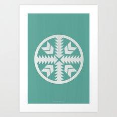 Aztec No. 4 Art Print