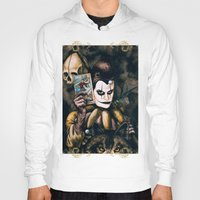 tarot Hoodies featuring Tarot & Totems by Chad Savage