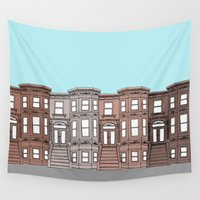 brooklyn Wall Tapestries featuring Brooklyn by Home & Anchor