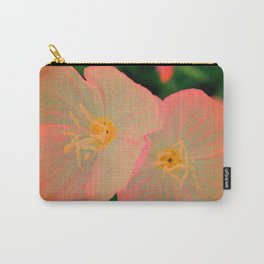 2 Tangerine Flowers | Flower | Nadia Bonello | Canada Carry-All Pouch