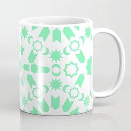 Mint Arabesque Coffee Mug