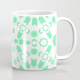Mint Arabesque Coffee Mug