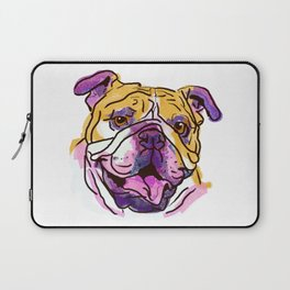 The Bully is the happy Love of my Life! Laptop Sleeve