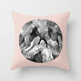 Flowery Nature II Throw Pillow