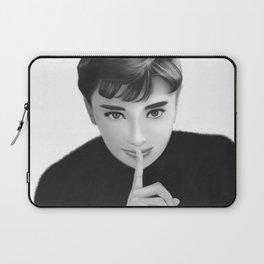 Audrey Hepbun Secret Laptop Sleeve