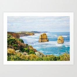 Along the Great Ocean Road Art Print