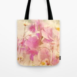 Summer flower Pattern and fantasy Tote Bag