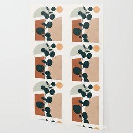Soft Shapes V Wallpaper