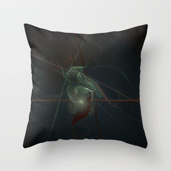 Creature of Light Throw Pillow