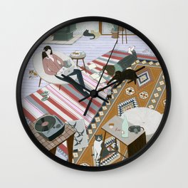 Sisters Room Wall Clock