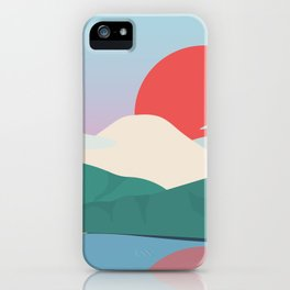 Mt Fuji from Hakone National Park iPhone Case