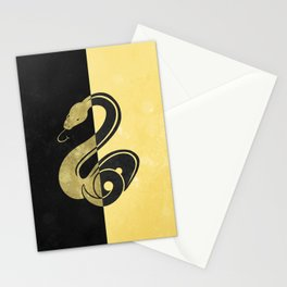 Slytherpuff Stationery Cards