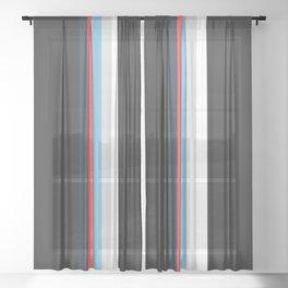 Classic Stripes Tianlong Sheer Curtain