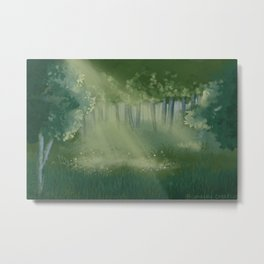 Forest Views Metal Print