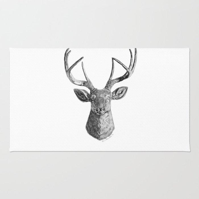 Hello Deer Rug