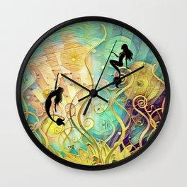Sea Lore Wall Clock
