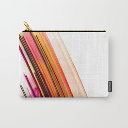 Fast Forward Abstract Artwork Carry-All Pouch