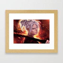 Cinders Framed Art Print
