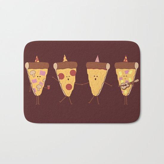 Pizza Party Bath Mat