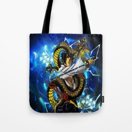 the dragon uciha Tote Bag