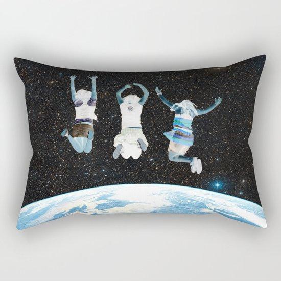 Negative Rectangular Pillow
