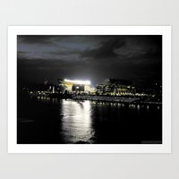 steelers Art Prints featuring City of Champions by Alyson Cornman Photography