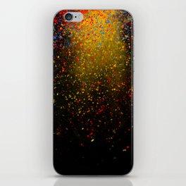 dust explosion iPhone Skin