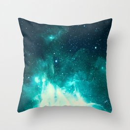Spirit Nebula Throw Pillow