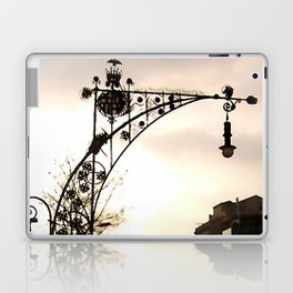 Streetview in Barcelona Laptop & iPad Skin