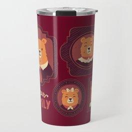 Bear Family Travel Mug
