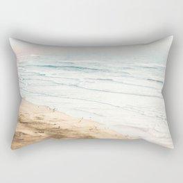 California, Los Angeles, beach, seaside, ocean, surf Rectangular Pillow
